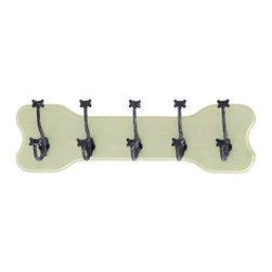 Benzara - Mankind's Best Friend Wall with Dog Bone Hooks - Mankind's Best Friend wall with Dog Bone hooks. Man's best friend deserves a spot on the wall in any loving pet owner's home.