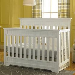 Fisher Price Lakeland 5 In 1 Convertible Crib Snow White
