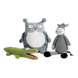 Pier 1 Imports - Plush Animals - Cuddle up with one of our soft and snuggly Plush Animals. Your choice of owl, zebra, or crocodile.