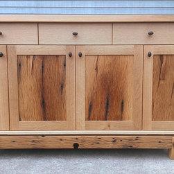Furniture - Buffet reclaimed oak and quarter sawn white oak