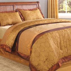 Copper Rimmed Bedding -