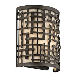 Kichler Lighting - Kichler Lighting 43050OZ Loom Olde Bronze Wall Sconce - 1, 60W Candelabra