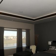 Modern Bedroom by Bengel Custom Homes