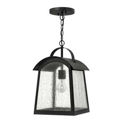 Hinkley Lighting - Hinkley Lighting 2652BK Putney Bridge Black Outdoor Hanging Lantern - Hinkley Lighting 2652BK Putney Bridge Black Outdoor Hanging Lantern