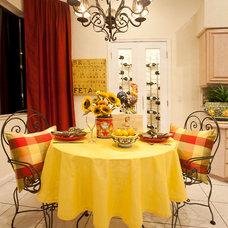 Mediterranean Kitchen by Inspired Interiors by Wendi, IIDA