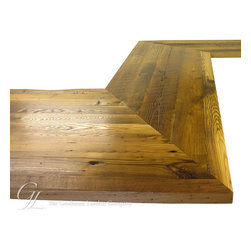 Reclaimed Chestnut Wood Counter - Countertop Wood: Reclaimed Chestnut