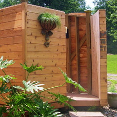 traditional swimming pools and spas by Artisan Sheds