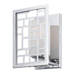 Designers Fountain - Designers Fountain 6721 Trellis 1 Light Bathroom Sconce - Features: