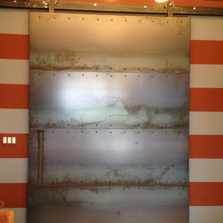 Carbon Steel Door - Sliding carbon steel door