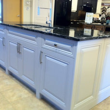 Traditional Kitchen Islands And Kitchen Carts by Michelle Yaworski – Gem Cabinets Ltd