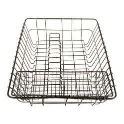 Vintage Wire Dish Drainer Drying Rack