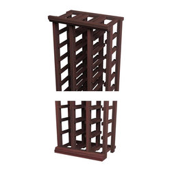 Wine Cellar Innovations - Traditional Series Straight Trim Kit - Finish off your Redwood & Pine wine cellar or Redwood & Pine wine room by adding these pre-cut Redwood & Pine crown, base and toe kick moldings to your assembled Redwood & Pine wine racks. These Redwood & Pine Straight moldings compliment any of our straight Redwood & Pine wine racks, and offers a customized look without the custom price. Each Redwood & Pine molding kit consists of moldings that are sold in 4 ft length sections. See specs for further details. Assembly required.
