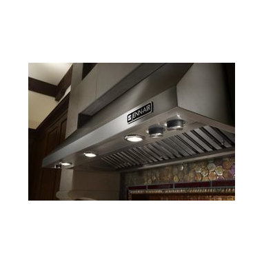 "Jenn-Air® Ventilation Options - The Jenn-Air® 48"" Pro-Style™ Wall-Mount Hood will complement any high-heat, commercial-style cooking appliance while powerfully clearing the air of smoke, steam and cooking odors."