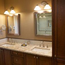 Contemporary Bathroom by Meadow  Sage Builders