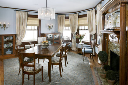 traditional dining room by Abbeyk, Inc.