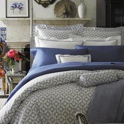 Luxury Blue Bedding - Sferra