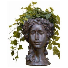 Eclectic Outdoor Planters by Bellacor