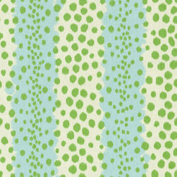Home Decor Upholstery Fabric-Waverly Spot On, Mint Julep - This fabric is called mint julep and I almost see the fizzing of the sparkling soda in that Kentucky Derby drink. The fabric brings in the mint tones, but in a much more interesting way — not monotone.