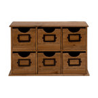 Smart Styled attractive Wood Table File Cabinet - Description:
