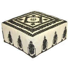 Ottomans And Cubes by Home Made Couture