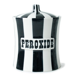Peroxide Canisters - This is dark, very dark — just the way I like it.