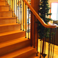 Traditional Staircase by Nancy Clendaniel