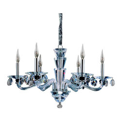 Allegri - Allegri 11527 Fanshawe 6 Light Single Tier Chandelier - Specifications: