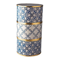 Piling Palang - Handmade Tiffin Box by Piling Palang - You don't need to travel across the world to enjoy the ancient art of Cloisonné. The exquisite luxury of this handcrafted piece can be all yours. Display it somewhere special where it can be fully appreciated.