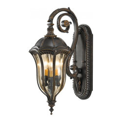 Murray Feiss - Murray Feiss MF OL6002 Three Light Outdoor Wall Sconce - Technical Details