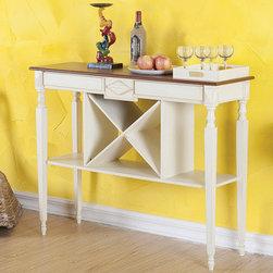 Brunswick Wine Console Table -