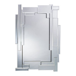 Kichler Lighting - Kichler Lighting 78210 Xana Modern / Contemporary Rectangular Mirror - With a geometric profile and Beveled Mirror frame, this mirror fixture creates a distinctive impression that will accent any space in your home.