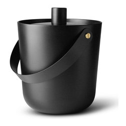 MENU - Wide Fire Bucket - Build your own bonfire in this handy bucket that can also serve as a planter. Whether you use this Nordic-inspired fire bucket to bring light or life into your home, deck or garden, you'll love its powder-coated steel design.