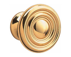 """Renovators Supply - Cabinet Knobs Bright Solid Brass Decorative Cabinet Knob Spooled 