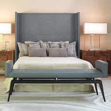 modern headboards by GLOBAL VIEWS