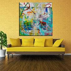Contemporary Artwork by Original Art by Dora Woodrum