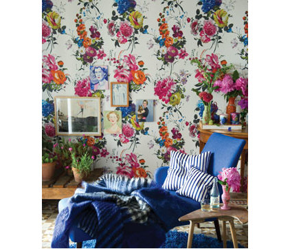 Eclectic Wallpaper by Designers Guild