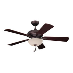 Emerson Ceiling Fans - Emerson Ceiling Fans CF776ORB Emerson  CF776ORB  Oil Rubbed Bronze with Dark Che - Emerson CF776 Monterey Lumina 52-in Ceiling Fan Monterey Lumina 52 Ceiling Fan Down rod :4.5 included. Control Pull Chain. Number of Speeds 6. Reverse