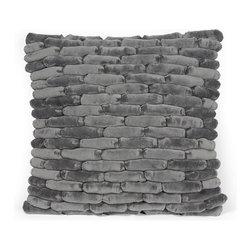 Cobblestone Pillow Smoked Pearl -