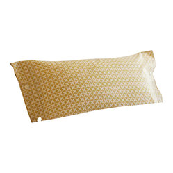 Charleston Dijon Yellow Breakfast Toss Pillow