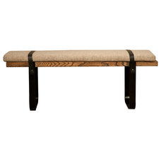 Contemporary Dining Benches by Zin Home