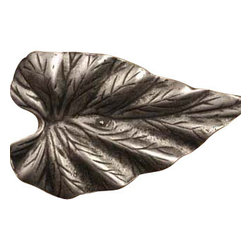 Anne at Home Hardware - Fig Leaf Knob, Rust w/ Verde Wash - Made in the USA - Anne at Home customized cabinet hardware enables even the most discriminating homeowner to achieve the look of their dreams.  Because Anne at Home cabinet hardware is designed to meet your preferences, it may take up to 3-4 weeks to arrive at your door. But don't let that stop you - having customized Anne at Home cabinet knobs and pulls are well worth the wait!   - Available in many finishes.