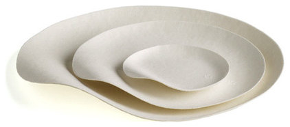 contemporary dinnerware by Branch