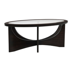 Demi Oval Cocktail Table - Living Spaces