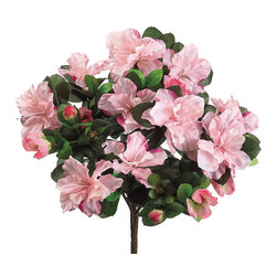 Silk Plants Direct - Silk Plants Direct Azalea Bush (Pack of 12) - Pink - Pack of 12. Silk Plants Direct specializes in manufacturing, design and supply of the most life-like, premium quality artificial plants, trees, flowers, arrangements, topiaries and containers for home, office and commercial use. Our Azalea Bush includes the following:
