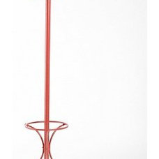 Contemporary Coatracks And Umbrella Stands Metal Coat Rack in Watermelon