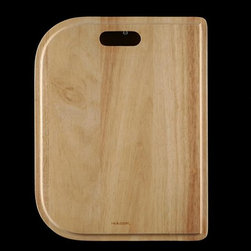 Houzer - Kitchen Sink Cutting Board Accessory - For use with Houzer products only. Fits MS-2309, ES-2408, LHD-3322, EHD-3118, 2522-6BS, 2522-9BS. Hardwood cutting board. Reversible and designed to fit both undermount and topmount. 13.25 in. x 17.125 in. x 0.75 in.T . Oak. 1 Year Warranty. 13.25 in. W x 17.125 in. H x in. D. Product Specifications