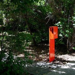 2213 Mailbox Post -