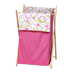 Pink Circles Hamper