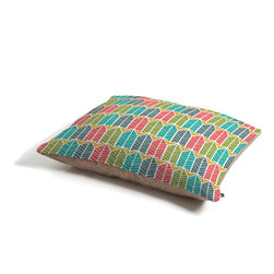 Heather Dutton Arboretum Leafy Multi Dog Bed - Perfect for dogs, cats,heck, even a pig! With our cozy pet bed made of a fleece top and waterproof duck bottom, you're bound to have one happy animal catching some zzzz's in ultimate comfort.