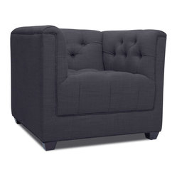 Grand Dark Grey Premium Armchair